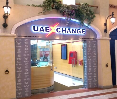 Interior Design in Dubai | UAE Exchange - Mercato Mall